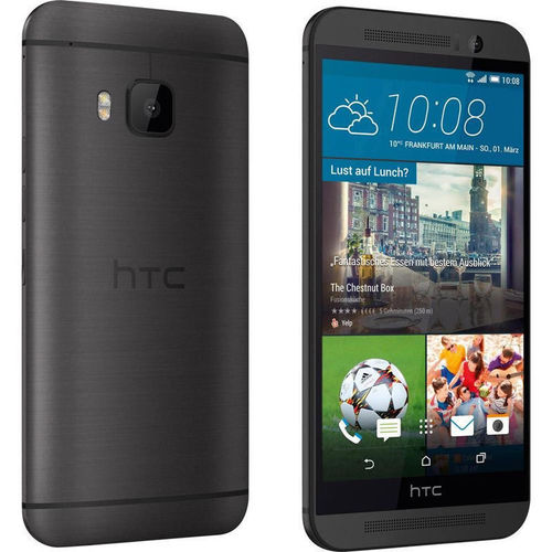 "HTC One M9 - 5,2"", OctaCore 2,2 GHz, 3 GB, 32 GB ROM, 20 MP, Grau"