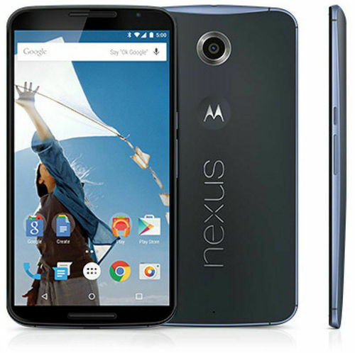 Google Nexus 6 XT1100 - 32GB 13MP, Android, Blau