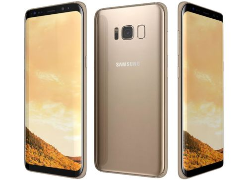 "Samsung Galaxy S8 Plus G955A Gold  - 6,2"", 64GB, mit Wireless Charger"