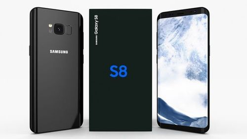 "Samsung Galaxy S8 G950A Midnight Black - 5,8"", 64GB, mit Wireless Charger"
