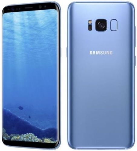 "Samsung Galaxy S8 G950A Blue - 5,8"", 64GB, mit Wireless Charger"