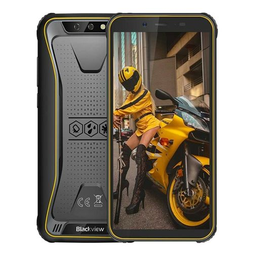 "Blackview BV5500 Plus -  Outdoor Handy 5,5"", 3GB RAM, 32GB ROM, Gelb, Android 10"