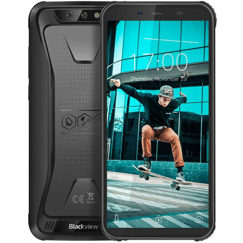 "Blackview BV5500 Plus -  Outdoor Handy 5,5"", 3GB RAM, 32GB ROM, Black, Android 10"