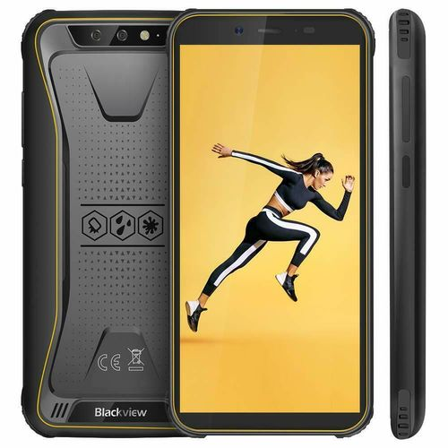 "Blackview BV5500 - Outdoor Handy 5,5"", 2GB RAM, 16GB ROM, Gelb, DualSim, Android, B"
